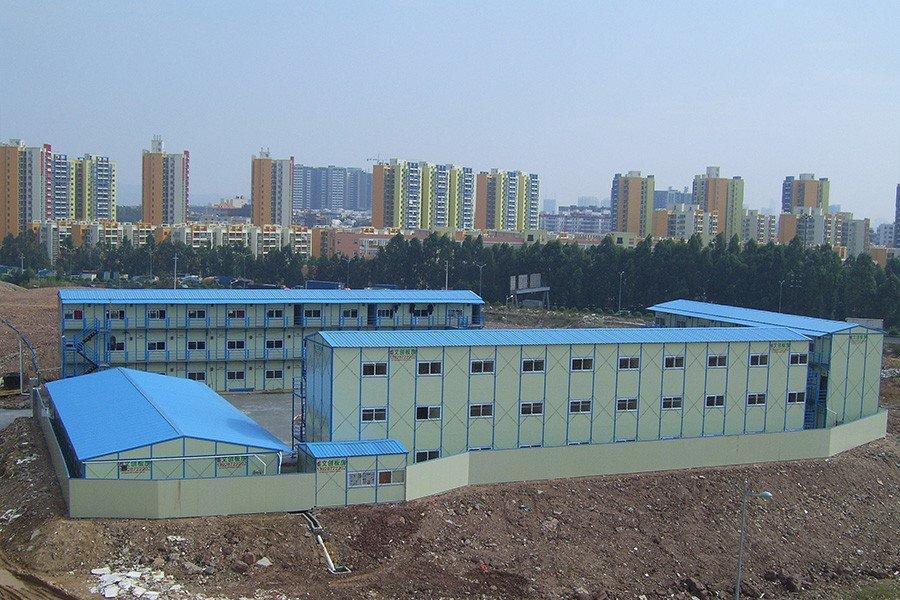钢结构板房设计制作安装过程中常见病及其措施